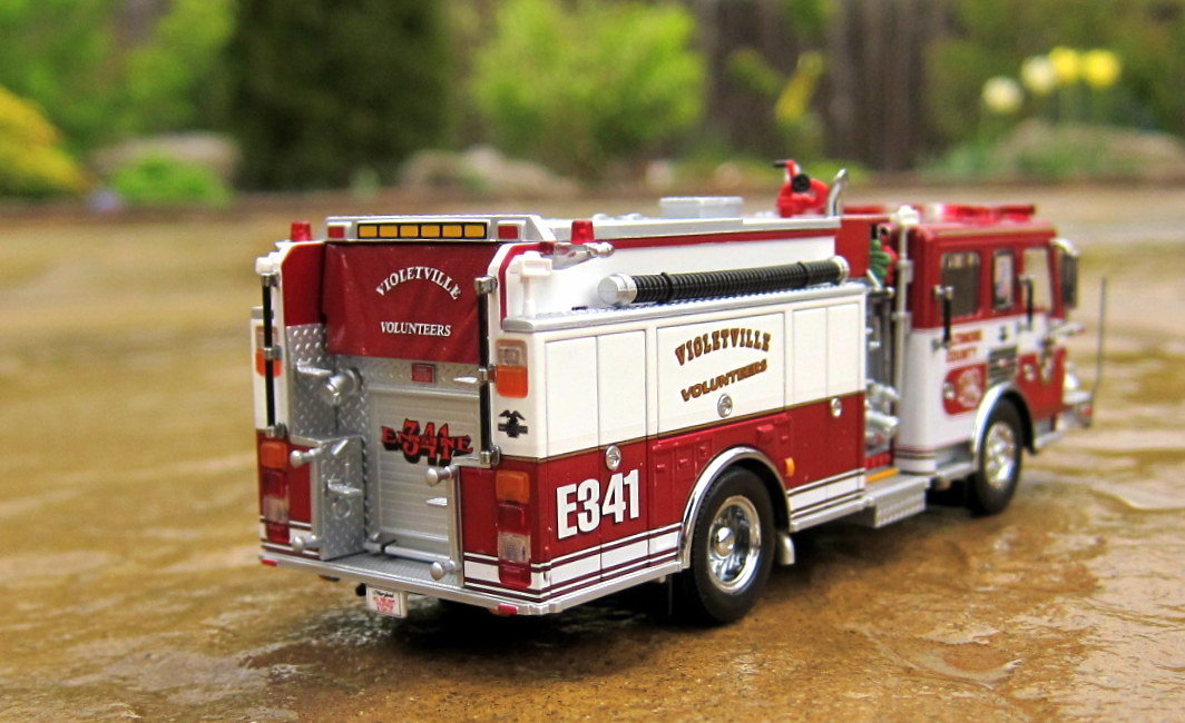 My Code 3 Diecast Fire Truck Collection: American LaFrance