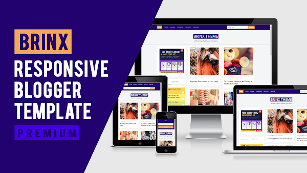 Brinx: Fastest and Mobile Friendly Premium Blogger Template