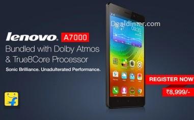 Lenovo A7000 Dual Standby Mobile