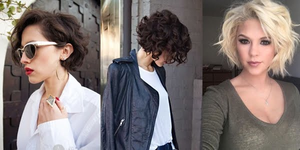 Fabulous 15 Awesome Ways To Style Your Curly Bob Short Hairstyles Gunalazisus