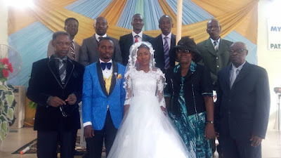 Photos From The Wedding Ceremony Of Matthew Ayodeji and Ruth Oluwatosin Today