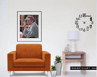 Portrait of Cosmo Kramer by Boulder portrait artist Tom Roderifck