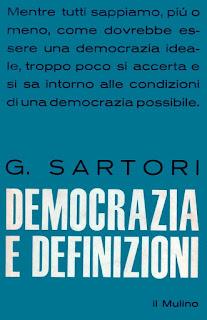 Democrazia e definizioni - G. Sartori