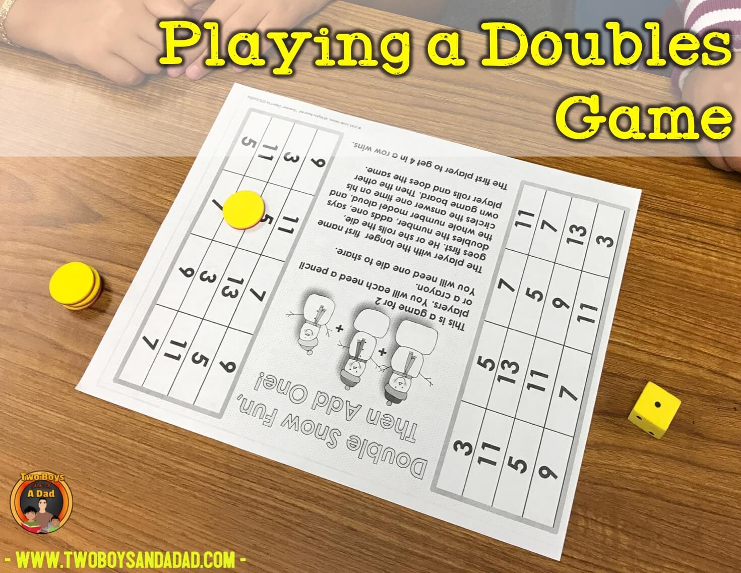 a doubles game
