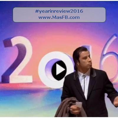 Resumen del año Facebook - yearinreview2016 - MasFB