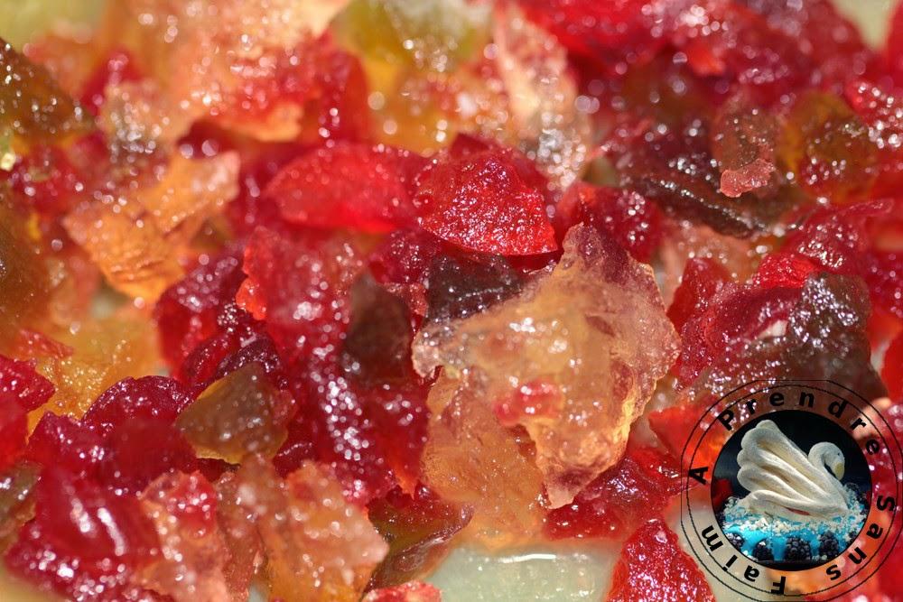 Brioche tressée aux fruits confits (pas à pas en photos)