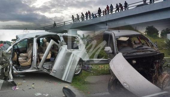 JUMLAH KORBAN KINI 6 ORANG, Ekoran Kemalangan Di Lebuhraya Pantai Timur 2, KM 288.6