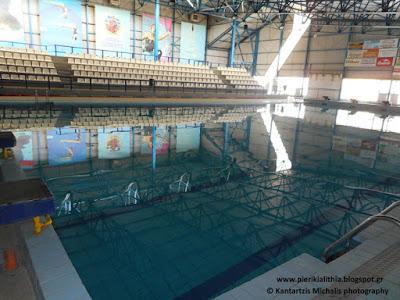 Κλειστό θα παραμείνει το κολυμβητήριο Κατερίνης σήμερα λόγω της κακοκαιρίας.