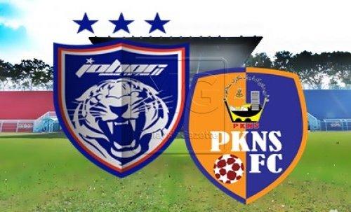 Live Streaming Keputusan JDT Vs PKNS Liga Super 15 April 2017