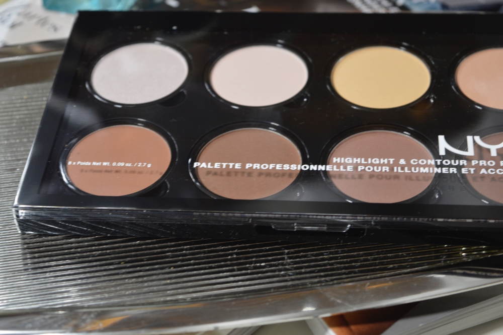 NYX Highlighter & Kontur Pro-Palette