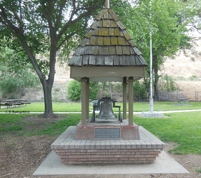 Replica of Old San Miguel School Bell Tower in San Miguel Park, CA. Photo © B. Radisavljevic
