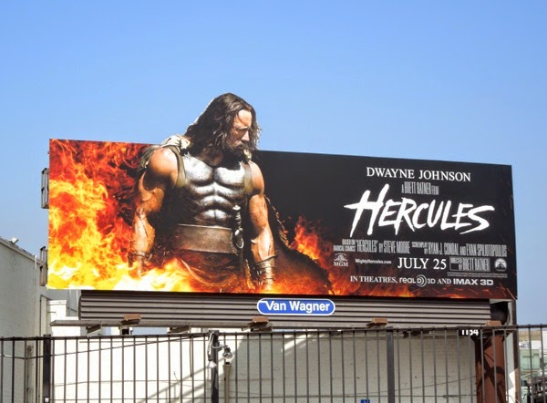 Hercules movie billboard