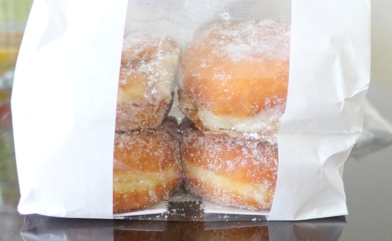 Marks and Spencer jam donuts