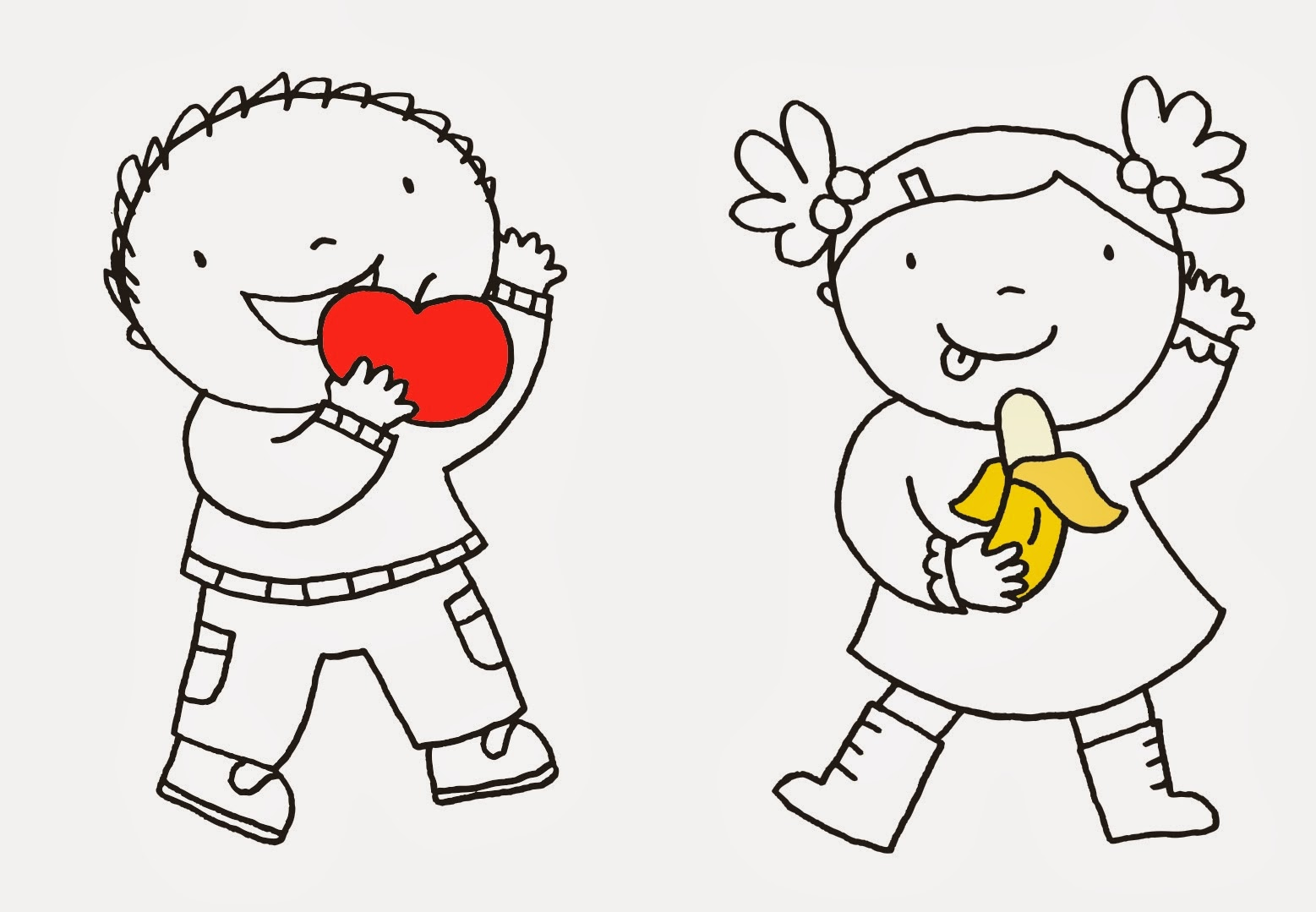 Kleurplaat Groente En Fruit Qt96 Belbin Info