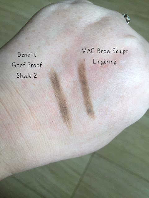 MAC Brow Sculpt Pencil Swatch In Lingering