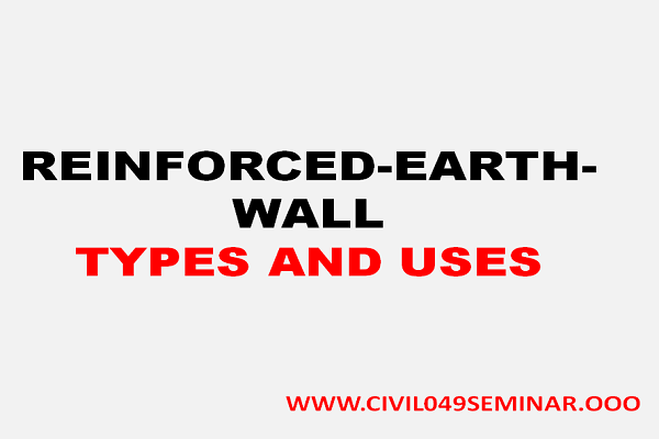 REINFORCED EARTH WALL