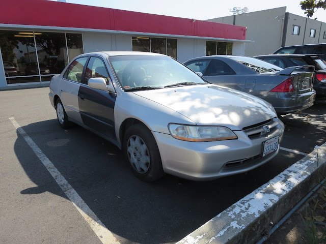 1999 Honda Accord in need of paint before repairs at Almost Everything Auto Body