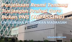 Penjelasan Resmi Tentang Tunjangan Profesi Guru Bukan PNS (INPASSING)