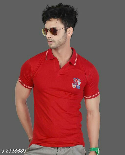Trendy Cotton Men's T-Shirt