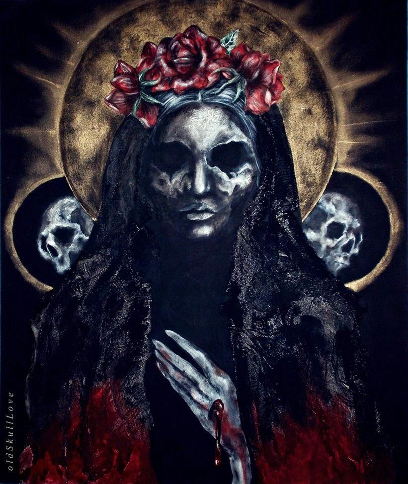 Mundo Tentacular La Santa Muerte Culto Devotado A Santa