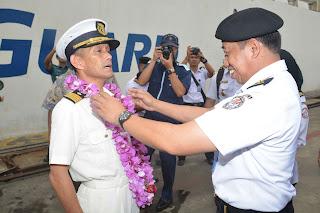 Bakamla RI Kedatangan Kapal Japan Coast Guard