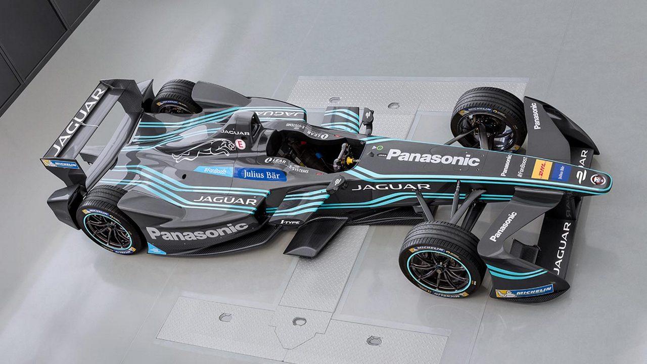Formula 1 One Race Car Wallpaper Bright Panasonic Jaguar Racing Head To Marrakesh