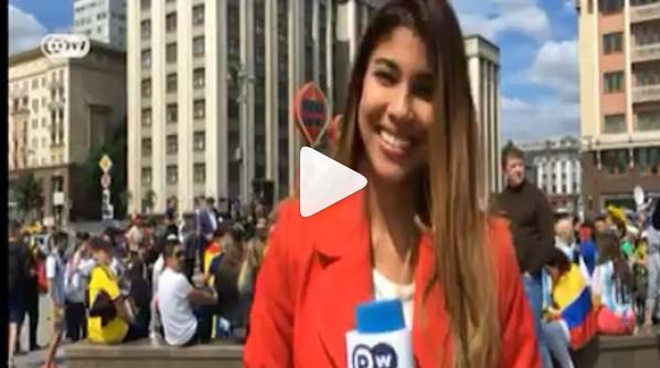 Vidéo - Une journaliste agressée sexuellement en plein direct