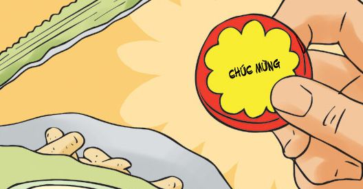 Kim Chi & Củ Cải (bộ mới) phần 845: Trúng thưởng
