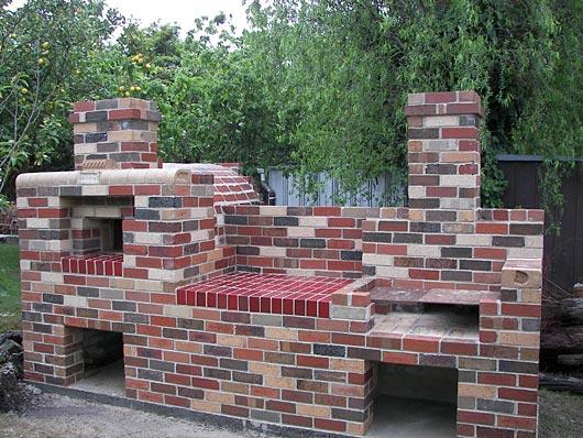 Brick Laminate Picture Grill Plans