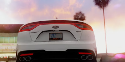 Download mod carro Kia Stinger GT para GTA San Andreas, GTA SA PC