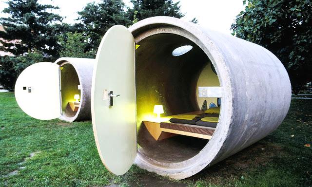 墨西哥州 Tepoztlán 酒店 和奧地利酒店的水管屋設計4