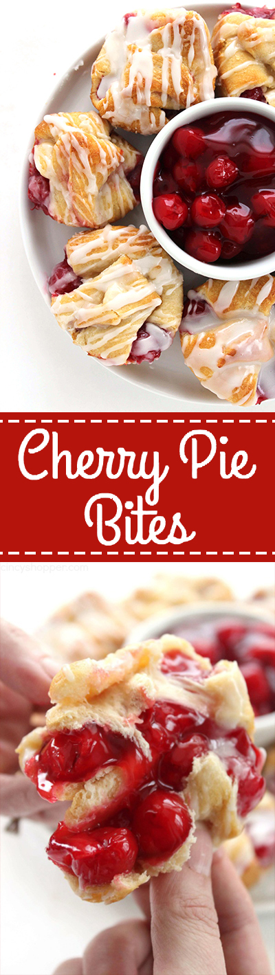 Best Cherry Pie Bites