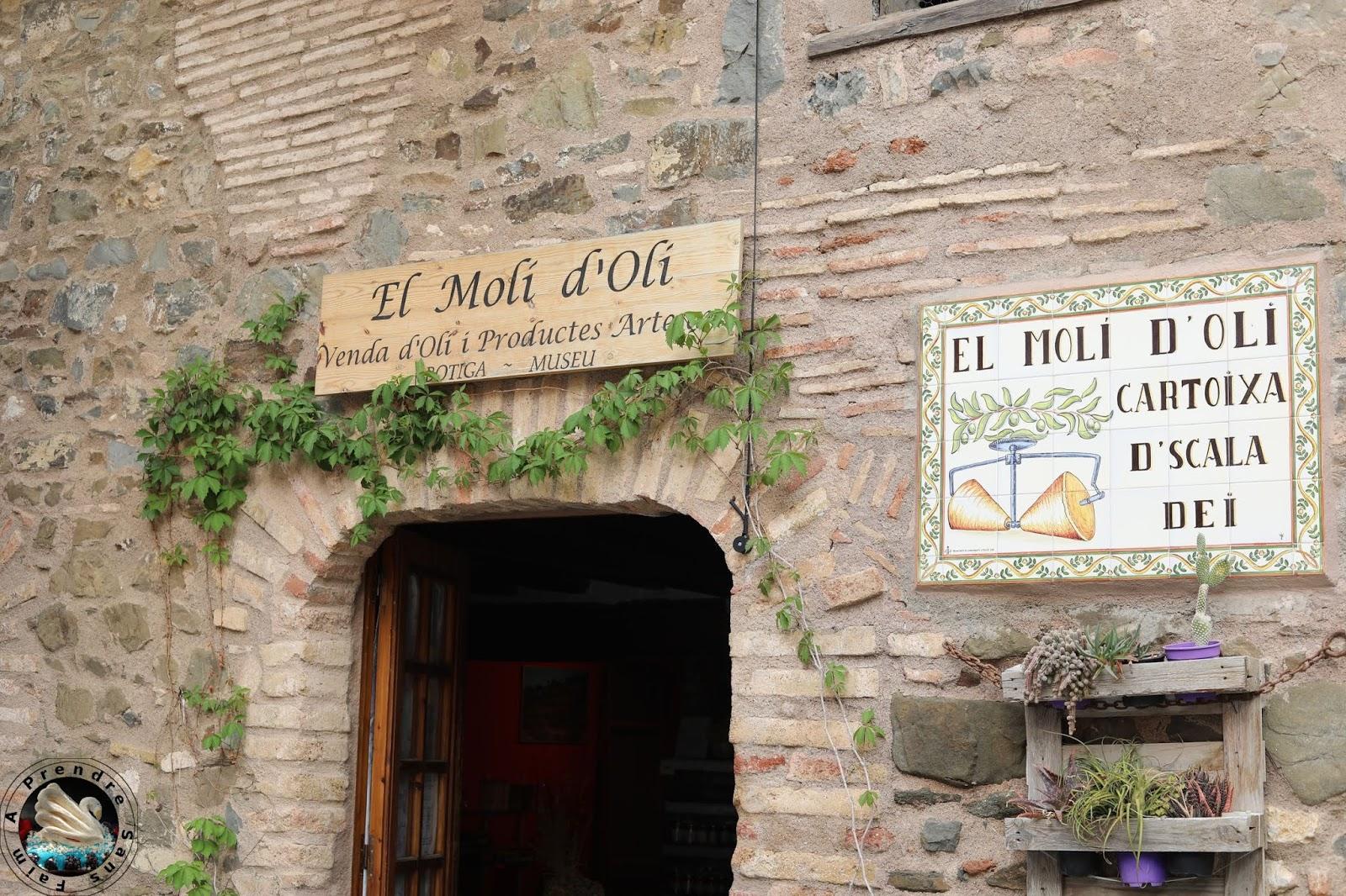 Dégustation d'huiles d'olive au moulin Miro Cubells - Cabacés