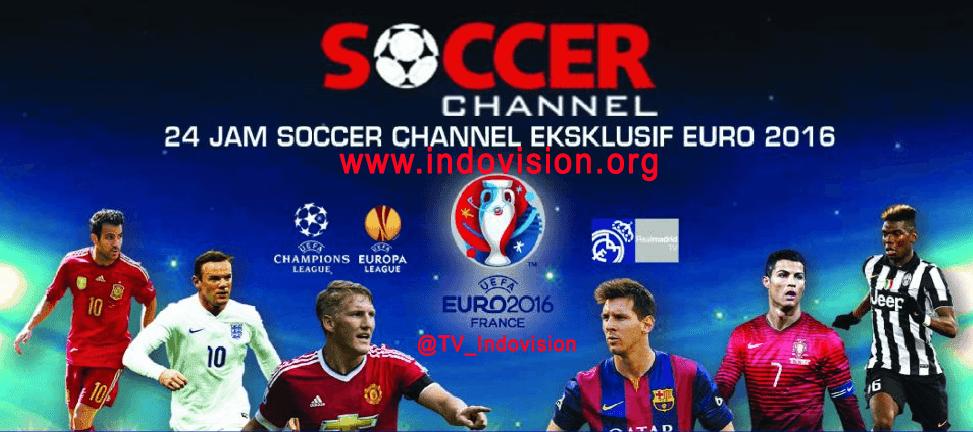 Berlangganan Soccer Channel untuk Nonton EURO 2016