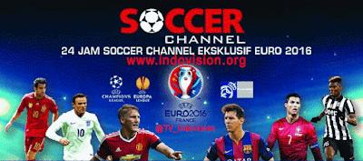 Cara Berlangganan Soccer Channel UEFA EURO 2016