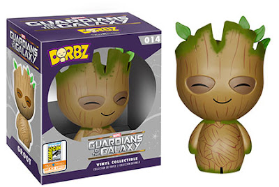 "San Diego Comic-Con 2015 Exclusive Guardians of the Galaxy ""Mossy"" Groot Dorbz Vinyl Figure by Funko"