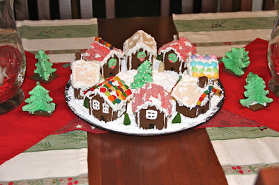 and time to visit the Gingerbread Village