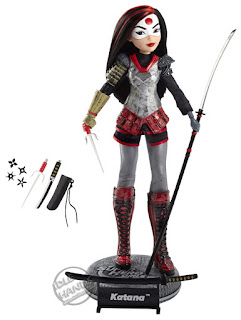 San Diego Comic-Con 2016 Mattel Exclusive DC SUPER HERO GIRLS KATANA ACTION DOLL