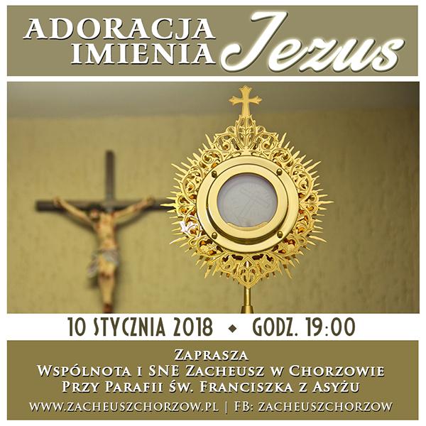 Adoracja Imienia JEZUS