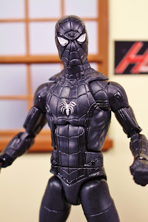 Custom Symbiote Spiderman (black suit) Homecoming movie concept series
