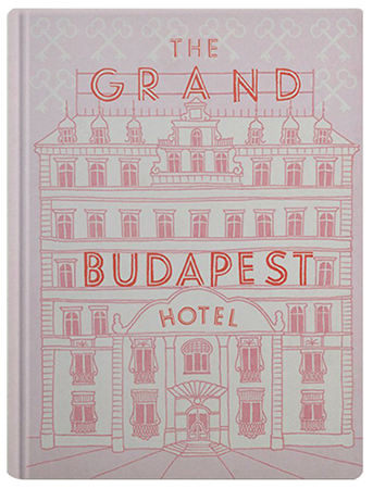 The Grand Budapest Hotel Book on Fox Searchlight