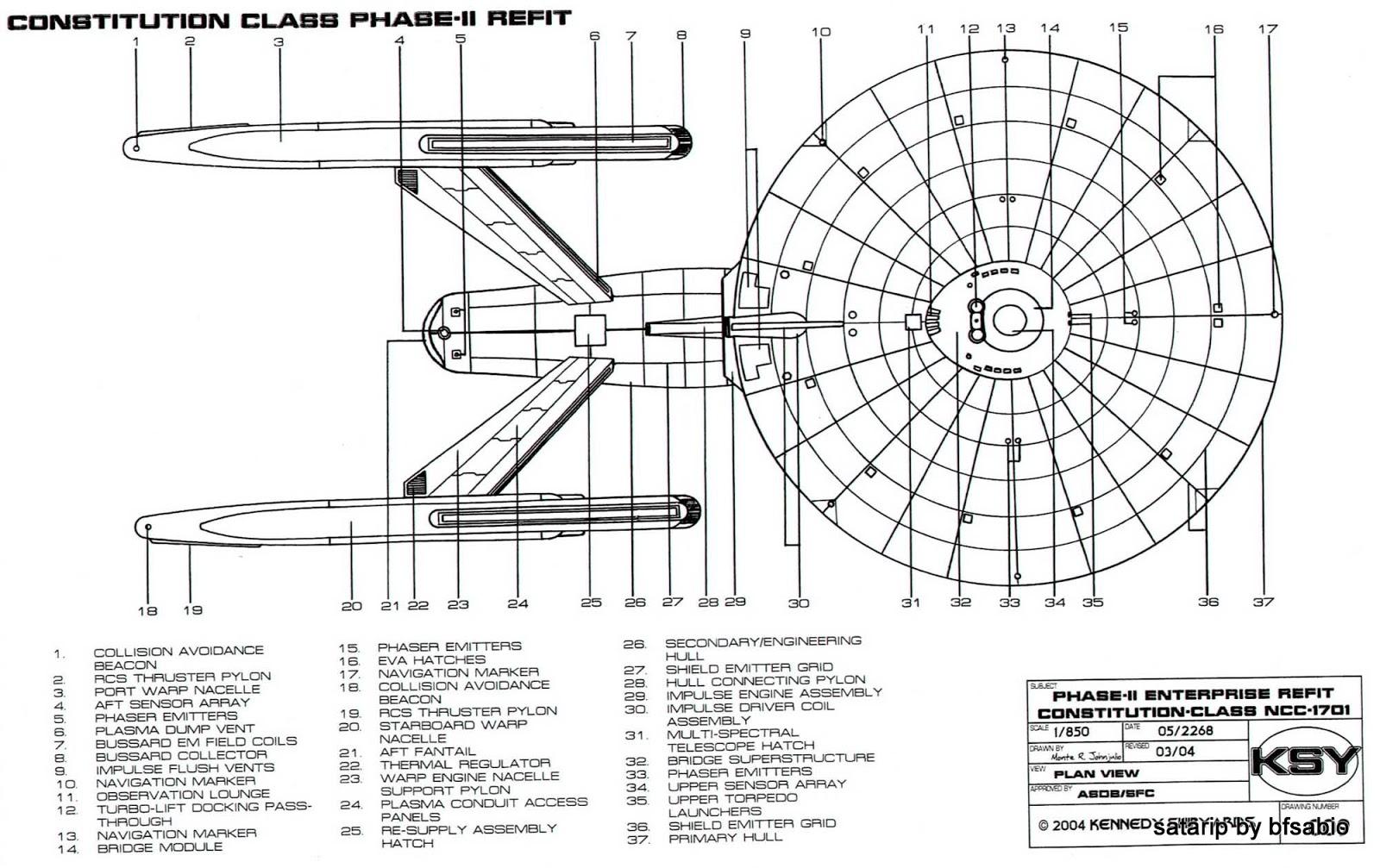 Enterprise Ncc 1701 B   Wiring Diagram Database