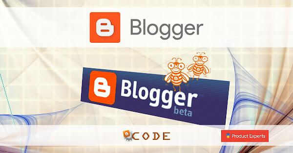 Blogger Beta 2006 - Layouts Version 1