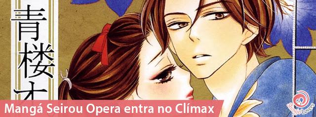 Mangá Seirou Opera entra no Clímax