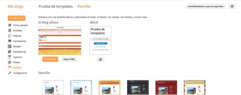 DriveMeca instalando una plantilla responsive en Blogger