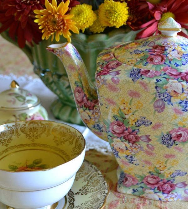Artful Affirmations: Tea Cup Tuesday-Afternoon Tea