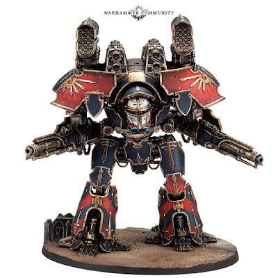 matriz armas adcionales Titan Warlord