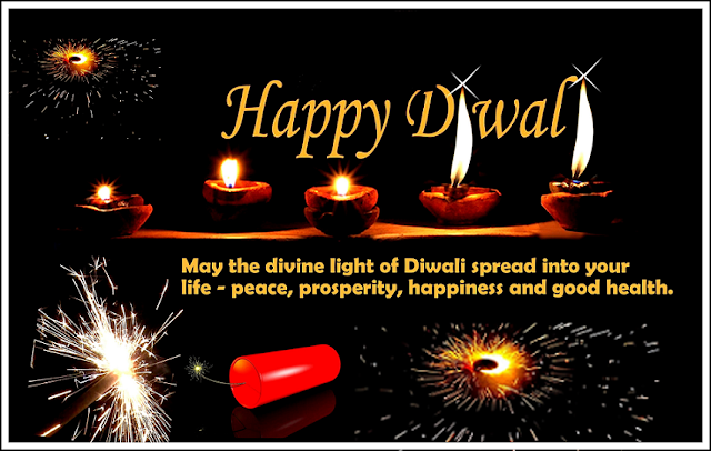 May the Divine light of Diwali greetings free download