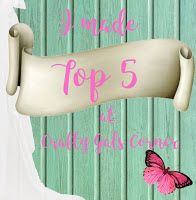 Top 5 at Crafty Gals Corner