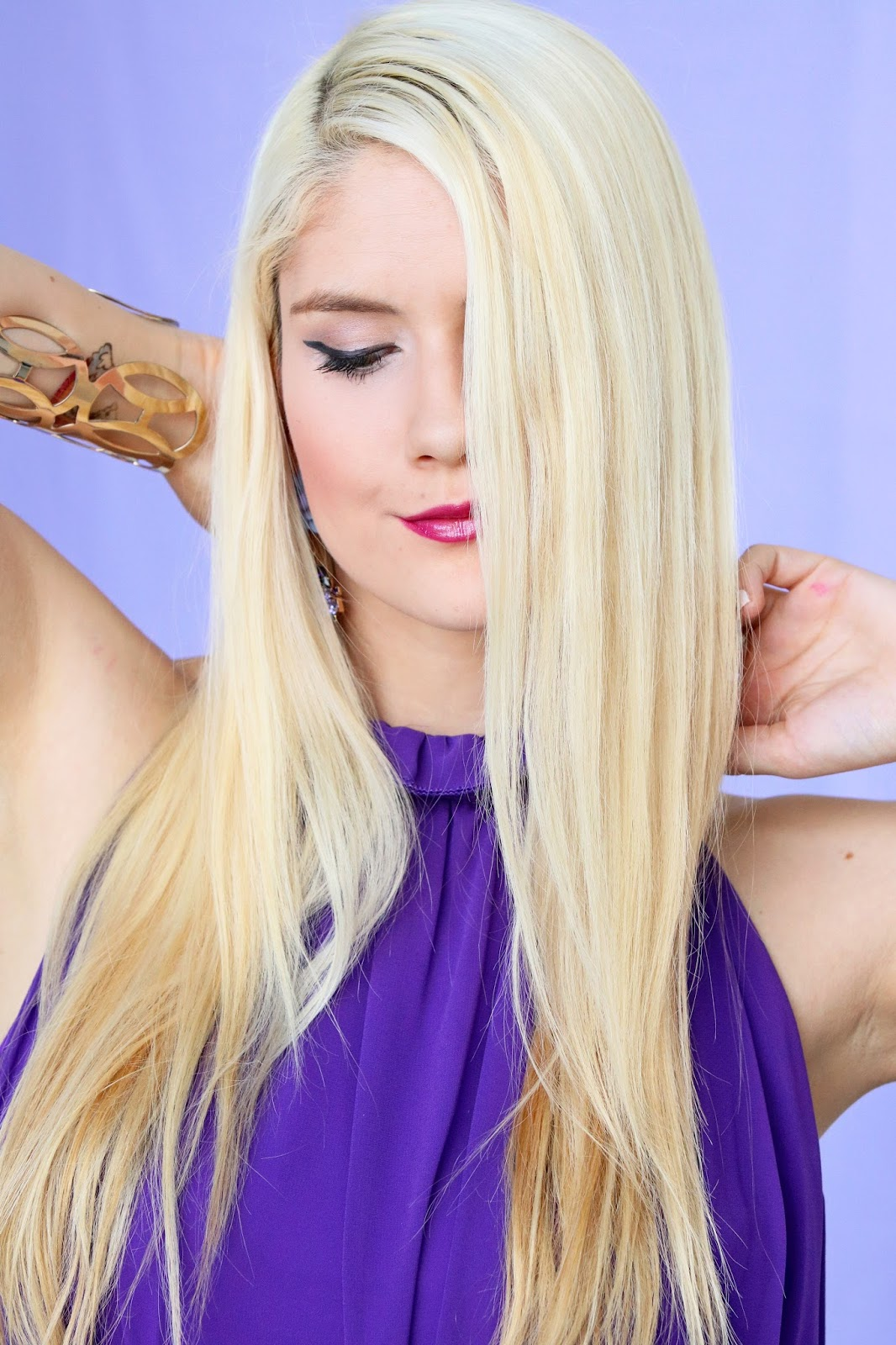 Click through for tips on how to straighten your hair